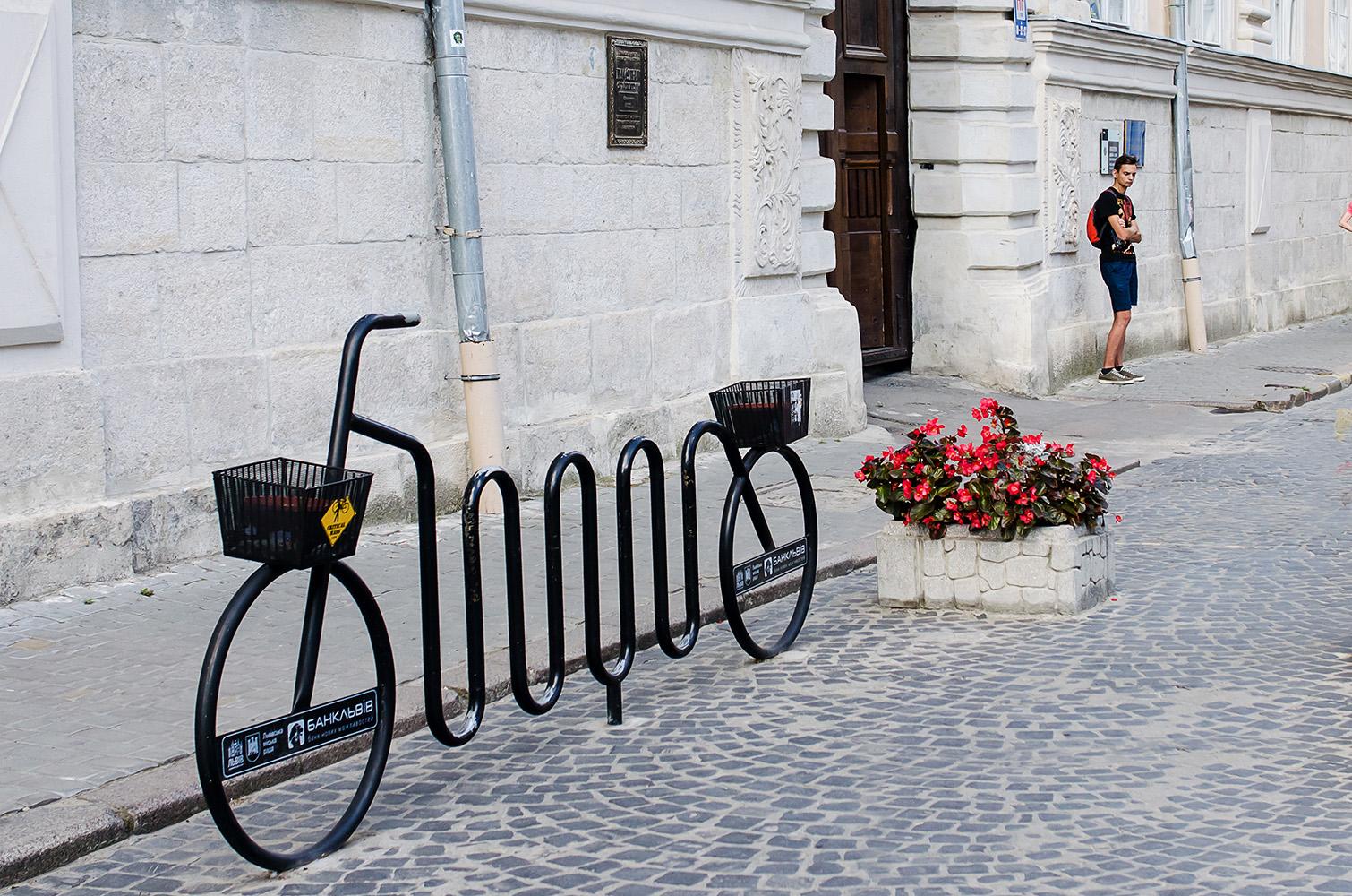 велопарковка велостоянка